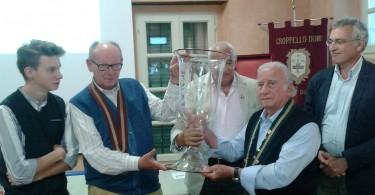 Premiazione Trofeo Pompeo Molmenti