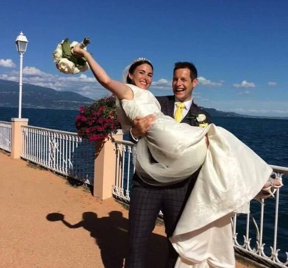 wedding clarke